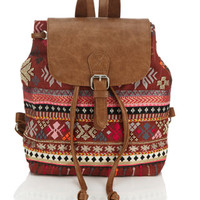 Sienna Mini Backpack | Red | Accessorize