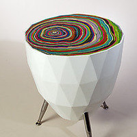 Lego: David Rasmussen: Wood Side Table - Artful Home