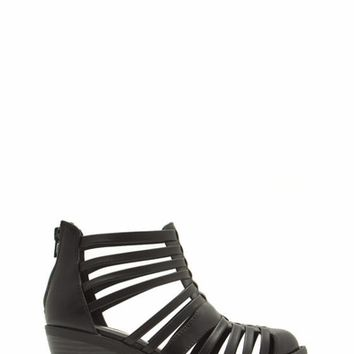Cage Me Cut-Out 'N Slit Booties