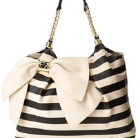 Betsey Johnson Bow Licious Tote