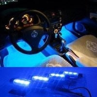 docooler® Car Decoration Light (4*3 LED)