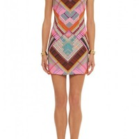 Mara Hoffman | Front Cutout Fitted Mini Dress