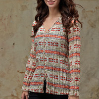 Womens Pendleton ® Charlotte Blouse