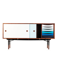 HAUS - Sideboard with Tray Unit by Finn Juhl