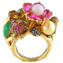 "1950's Vintage ""Fruit Saled"" Ring - Joyce Groussman Estate & Fine Jewelry"
