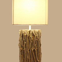 Traditional Modern Bedroom Table Lamps with White Fabric Shade