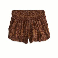 AEO Women's Don't Ask Why Soft Short (Raisin Wine)
