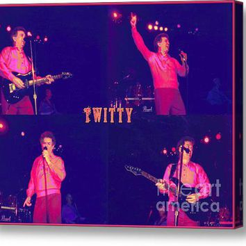Twitty Made Country Pop Acrylic Print