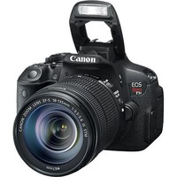 Canon - EOS Rebel T5i DSLR Camera with 18-135mm IS STM Lens - Black