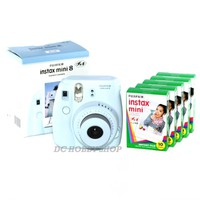 Fuji instax mini 8 blue Fujifilm instant Polaroid camera + 50 film
