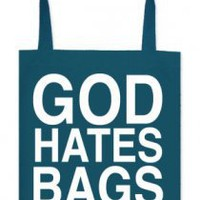 God Hates Bags Tote Bag (Teal) Accessory - Tyler Oakley Accessories - Official  Online Store on District Lines