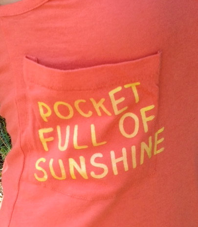 Pocket Full of Sunshine Women's Tank Dress by AbundantHeartApparel