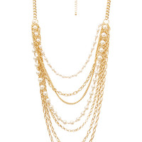 Layered and Lovely Statement Necklace