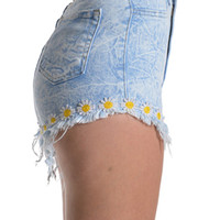 Daisy Dukes High Waisted Short | Bloody-Fabulous