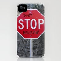 Don&#x27;t STOP Believing iPhone Case by Skye Zambrana | Society6