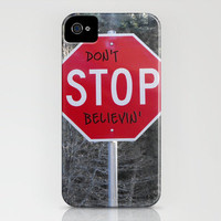 Don't STOP Believing iPhone Case by Skye Zambrana | Society6