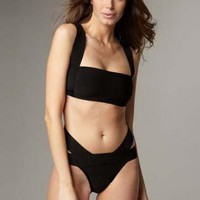 Black Swimsuit - Bqueen Black Bandage Bikini H190H | UsTrendy