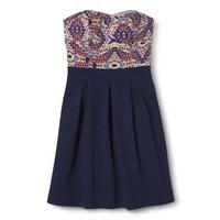 Xhilaration® Junior's Strapless Dress - Assorted Colors