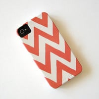 Chevron PINK IPhone 4/4s Case Pattern Geometric Arrows Modern Tribal Redtilestudio | Luulla
