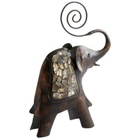 Mosaic Elephant Photo Holder