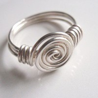 Wild Ivy Design | Rosette Ring any size 2-15 | Online Store Powered by Storenvy
