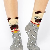 ASOS Pug And Bone Ankle Socks