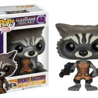 Funko POP Marvel: Guardians of The Galaxy - Rocket Raccoon Vinyl Figure