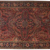 "Antique Persian Lillihan, 3'3"" x 4'9"" - One Kings Lane - Vintage & Market Finds - Floor Coverings"
