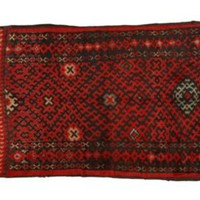 "Red Sara Moroccan Rug, 6'5"" x 9'7"" - One Kings Lane - Vintage & Market Finds - Floor Coverings"
