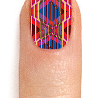 ncLA The Summer of 69 Mixtape Rewind Nail Wrap : Karmaloop.com - Global Concrete Culture