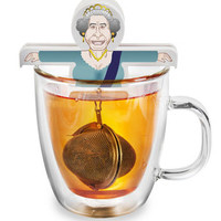 God Save The Queen Tea Strainer
