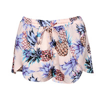 Cara Pineapple Print Shorts