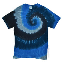 Darkside Spiral Tie Dye T Shirt