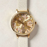 Parlour Floral Watch by Anthropologie Botanical Motif One Size Jewelry
