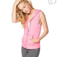 LLD Sleeveless Full-Zip Hoodie