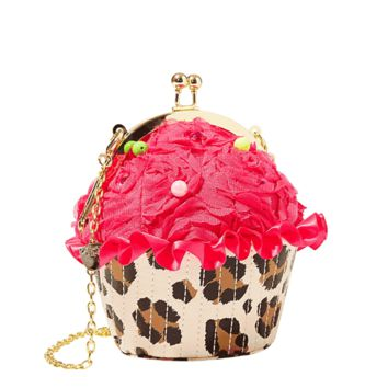 Yum! Who doesn't love cupcakes? This little bag is big enough to fit an I-Phone, ID, and some money.