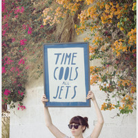 Time Cools All Jets Banner