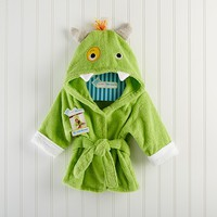 Adorable Baby Spa Robe (Monogram Available) - Little Monster