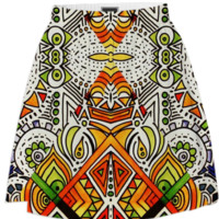 All Seeing skirt created by duckyb | Print All Over Me