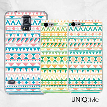 Aztec case tribal style plastic back cover for iPhone 4/4s iPhone 5/5s iPhone 5c, Samsung s5, htc one m7 htc one m8 2014 - C38