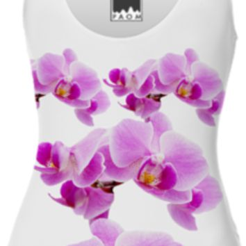 Radiant Orchid Swimsuit created by ErikaKaisersot | Print All Over Me
