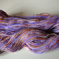 Hand Dyed Superwash Bluefaced Leicester/Bamboo Fingering/Sock Knitting Crochet Hippee