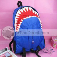 Stylish Unisex Shark Zip Oxford Backpack - DinoDirect.com
