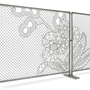 Demakersvan Lace Chain Link Fence