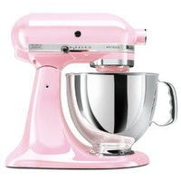 Amazon.com: KitchenAid KSM150PSPK Komen Foundation Artisan Series 5-Quart Mixer, Pink: Kitchen & Dining