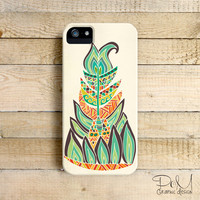 Tribal Feather- iPhone 5/5c case, iPhone 4/4s case, Samsung Galaxy S3/S4