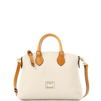 Dooney & Bourke Dillen2 Trim Crossbody Satchel, White