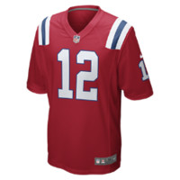 Jersey New England Patriots Men's NFL Football Alternate Game, Red