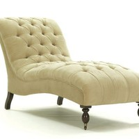 EARL LEATHER CHAISE | Mitchell Gold + Bob Williams