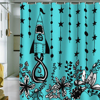 DENY Designs Home Accessories | Rebekah Ginda Design Journey Shower Curtain